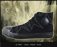 Trampky ALL BLACK New Age 2 r. 36-50 černé